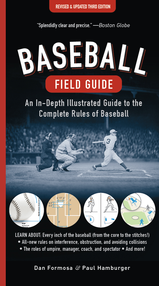 Baseball Field Guide cover 3rd Ed_