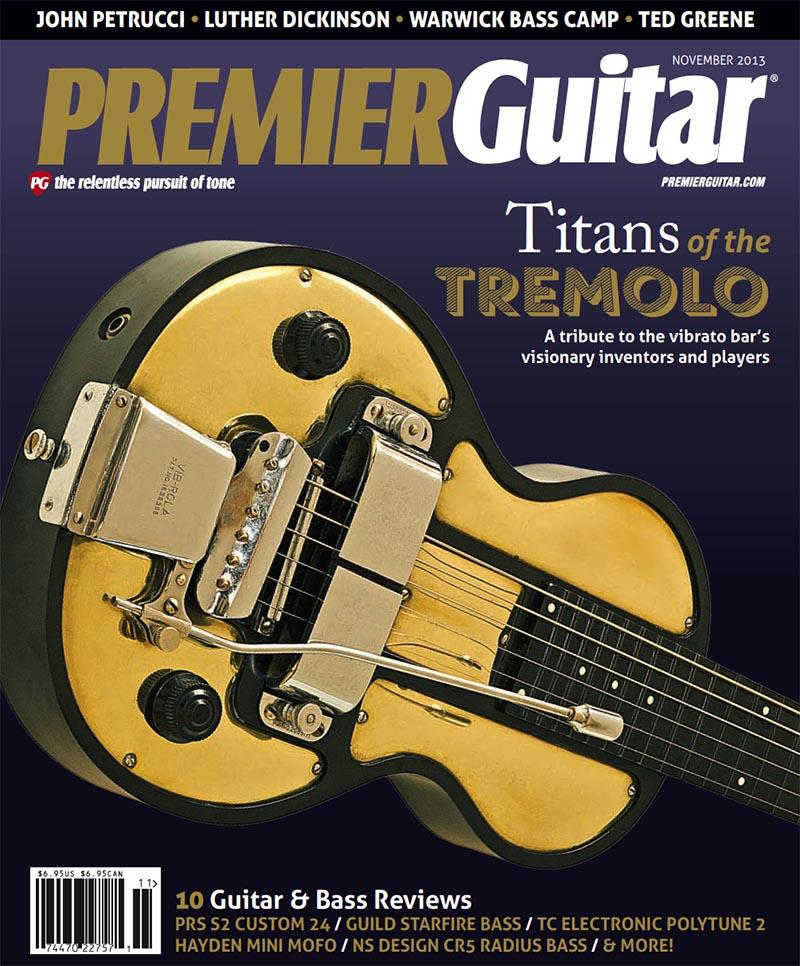 A Brief History of Tremolo: Premier Guitar | Dan Formosa